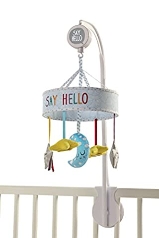 Baby Sensory Say Hello Starry Sky Mobile mit Musik (Chime Rattle)