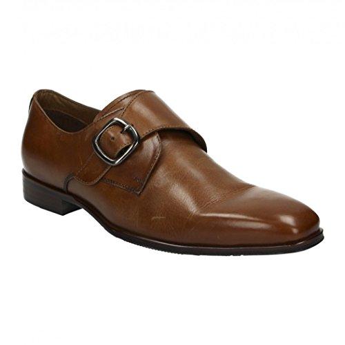 Fitters Footwear Caffè Moda - -Uomo Scarpa - Business Scarpa in Pelle - schuhgra ¶Ãÿen 41 Fino 46 Marrone chiaro