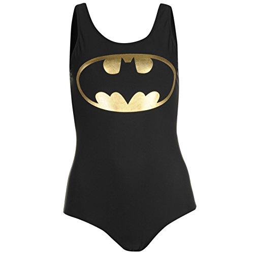 Character Donna Costume Da Bagno Intero Girocollo Bikini Nuoto Mare Spiaggia Batgirl 12 (M)