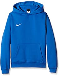 Nike Yth Team Club Hoody - Sudadera con capucha para niño, color Multicolor (Royal Blue/Football White), talla XS (122-128)