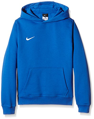 Nike Unisex Kinder Kapuzenpullover Team Club, Blau (Royal Blue/football White), XS -