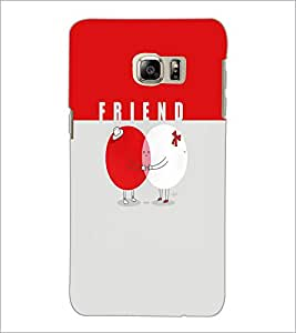 PrintDhaba Friends D-5884 Back Case Cover for SAMSUNG GALAXY NOTE 5 (Multi-Coloured)