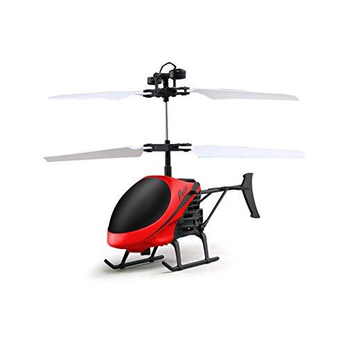 Aemiy D715 Mini Hubschrauber Induktionsflugzeug Fernbedienung RC Drone mit Blitzlicht