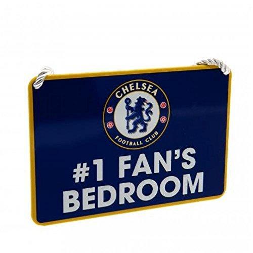 Chelsea FC Offizielle Fußball Geschenk No 1Fan Schlafzimmer Sign–A Great Weihnachten/Geburtstag Geschenk Idee für Männer und Jungen