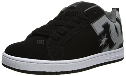 DC Shoes Court Graffik, Chaussures de skate homme Black/Dark Grey