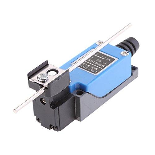Baoblaze Elektrische ME8107 Mini Endschalter 1NO 1NC Einstellbare Stange Hebel 5A Ersatz, - Ersatz-endschalter