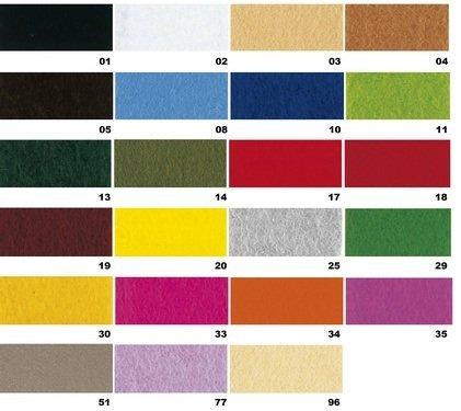 Rayher 5311929 Textilfilz, 30x45x0,4cm, grün