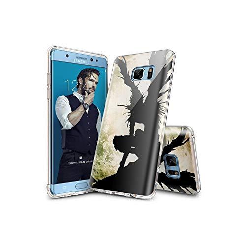 d611fecf1e9 Risultati della ricerca. death note cases. ASIB Samsung Galaxy S7 Funda  [Transparente Carcasa] Case Bumper Cover Suave Crystal Silicona para