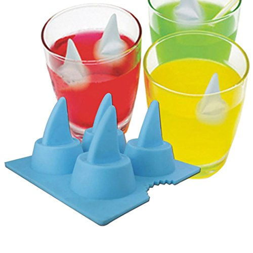 �rfelschale DIY Eis am Stiel Eiscreme-Form Hirolan Silikon Eiswürfelform Eiswürfel Box Ice Tray Ice Cube Eiswürfelbereiter für Chill Drinks Whiskey Cocktail (Grau) (Gesunde Halloween-leckereien)