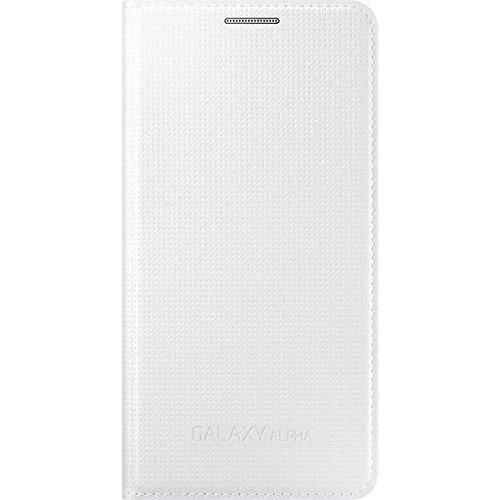 Samsung BT-EFFG850BWEGW - Funda para Samsung Galaxy Alfa, color blanco- Versión Extranjera