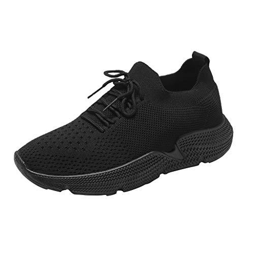 KERULA Sneaker Damen Atmungsaktiv Schnürsenkel Sportschuhe Wanderschuhe Laufschuhe Turnschuhe Hallenschuhe Joggingschuhe Freizeitschuhe Walkingschuhe Fitness Running Schuhe für Outdoor