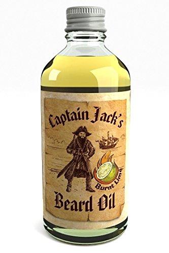 Captain Jack's Beard Oil Piraten Bartöl Conditioner 100ml Limited Edition Limette (Burnt Lime)