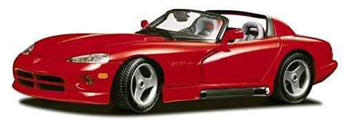 dodge-viper-rt-10-92-red-118-burago-auto-stradali-modello-modellino-die-cast