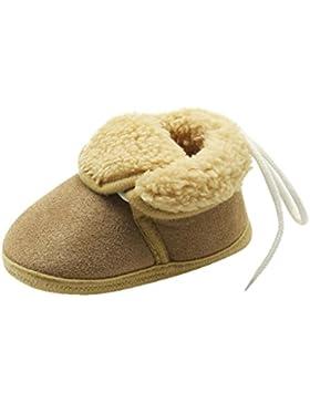 OYSOHE Kleinkind Neugeborene Baby Solide Weiche Sohle Stiefel, Winter Baumwollgewebe Prewalker Warme Schuhe