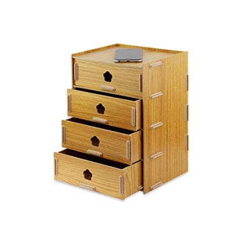 FELICIPP Creative 4 Drawer Woode...