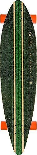 Globe Longboard Pinner Complete 41.25, Black/Sea Port/Orange, One size, 10525025