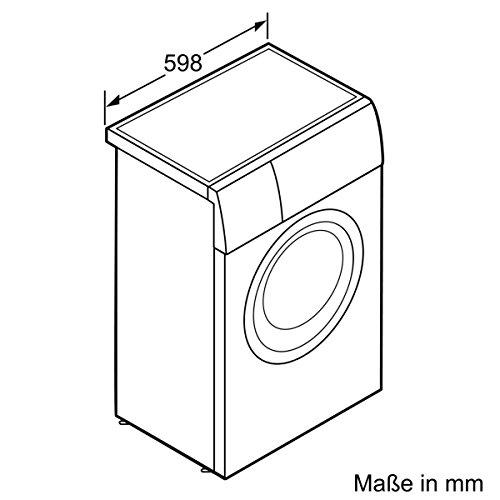 Siemens WS12T440 iQ500 Waschmaschine FL / A+++ / 119 kWh/Jahr / 1175 UpM / 6,5 kg / 8800 l/Jahr / VarioSoft Trommelsystem /WaterPerfect / weiß - 6