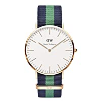 Reloj Daniel Wellington 0105DW de cuarzo para hombre con correa de nylon, color multicolor de Daniel Wellington Watches