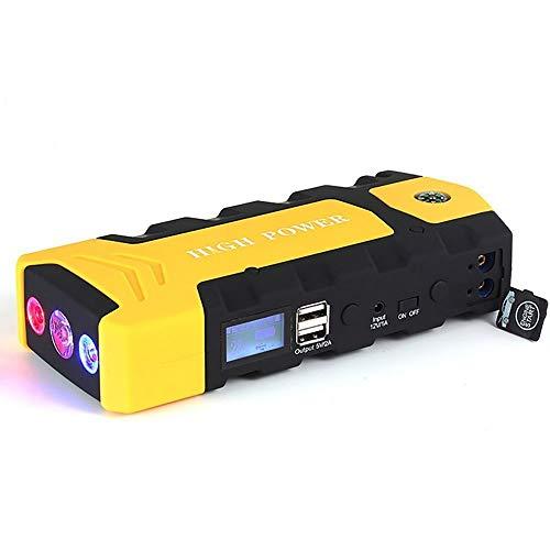 BTHDPP Ladegeräte Für Autobatterien,Auto-Starthilfegerät Externes Akkuladegerät Adapter Mit Großer Kapazität 12000mAh Mit USB ,Tragbare Stromquelle Für Auto Telefon Laptop