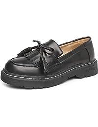 Zapatos Zapatos Amazon Complementos Y Mocasines es Borlas Con wxxT4XAq