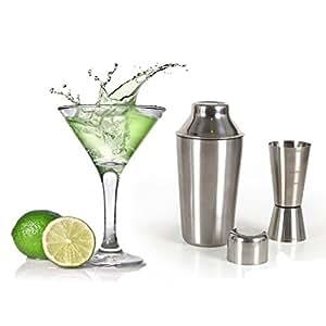 Homestyle 2454140031–Lot Cristaleria combiné Décoration d'intérieur style Cocktail 8pz–Transparent
