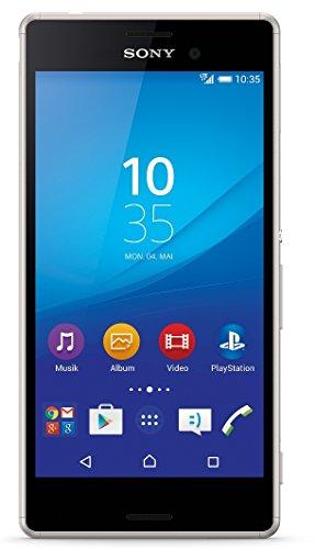 Sony Xperia M4 Aqua 8GB 4G Plata - Smartphone  SIM   nica  Android  EDGE  GPRS  GSM  HSPA  HSPA   UMTS  LTE  Micro-USB