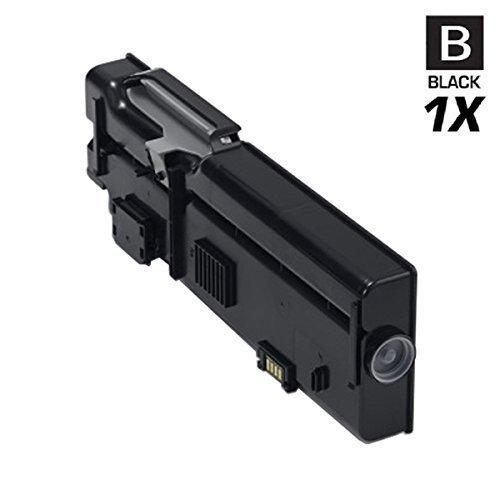 Fabrikneuer HOCHLEISTUNGS Toner mit 35% mehr Druckleistung 7.900 Seiten Schwarz ersetzt Dell C2660dn C2665dnf Dell RD80W/ 593-BBBU Druckqualität ist wie beim Original