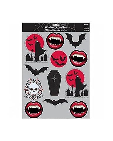 Vampire Window Sticker