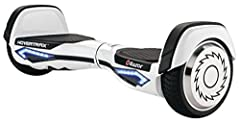 Idea Regalo - Razor Hovertrax 2.0 hoverboard di colore bianco per adolescenti ed adulti