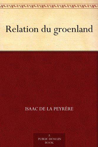 Couverture du livre Relation du groenland