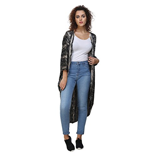 MansiCollections Printed Shrug For Women (XXX-Large)