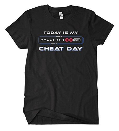 Cheat Day T-Shirt Schwarz