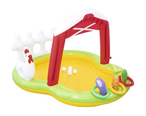 LQHPP Kinderpool Aufblasbares Schwimmbecken Schwimmponton 175 * 147 * 102CM