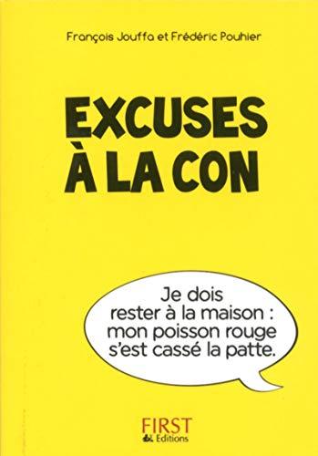 Petit Livre de - Excuses à la con