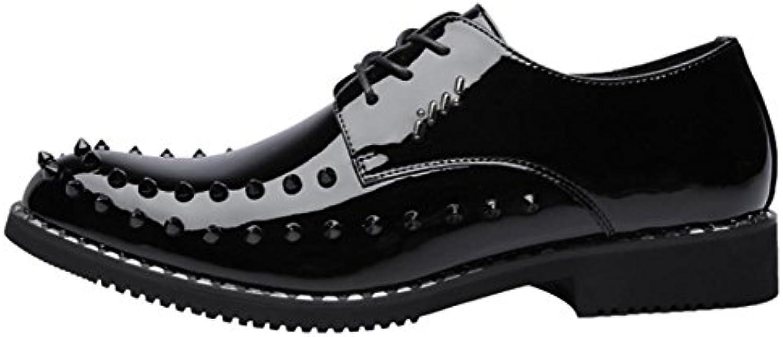 Herren Lederschuhe Business Casual Schuhe Schwarz EU 38 39 40 41 42 43 44