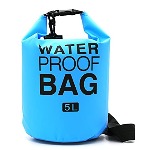 I-Dragon 5L/10L/20L PVC Outdoor Waterproof Dry Bag Sack Storage Bag for Travelling Rafting Boating Kayaking Canoe Camping Snowboarding