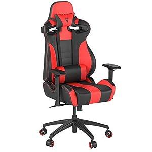 Vertagear SL4000 Silla Gaming, Negro/Rojo, Estándar