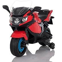 Moto Racer ATAA eléctrica batería 6v - Rojo - Moto eléctrica para niños de hasta 5
