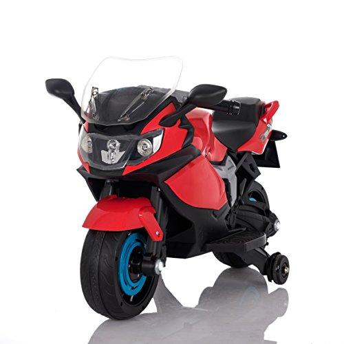 Moto Racer ATAA eléctrica batería 6v - Rojo - Moto eléctrica para niños de hasta 5 años. Batería 6v Coche...