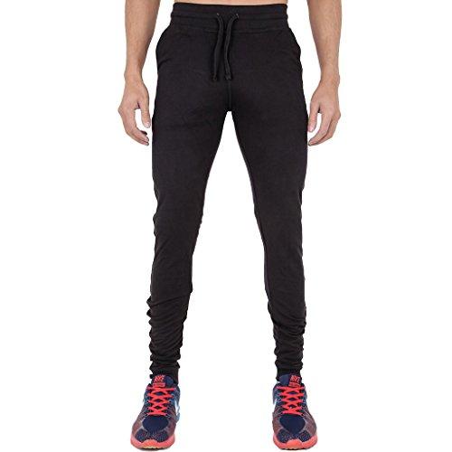 Herren-Jogginghose, super-skinny.  Gr. 34 W/32 L, Schwarz  ()