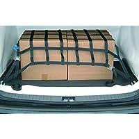 lasiprofi Ladungssicherungsnetz für PKW aus Gurtband Abmessung: 900 x 900 mm, schwarz