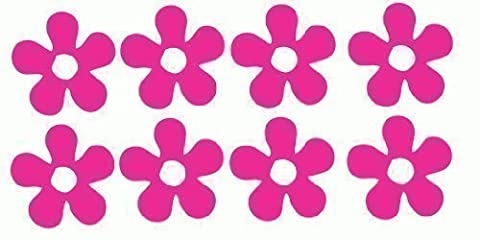 Quality Vinyl Flowers Stickers Car Bike Sccoter Helmet Decal Graphic Girls