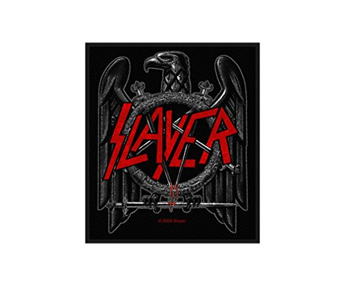 Slayer Aufnäher - Black Eagle - Slayer Patch - Gewebt & Lizenziert !! (Slayer Eagle)