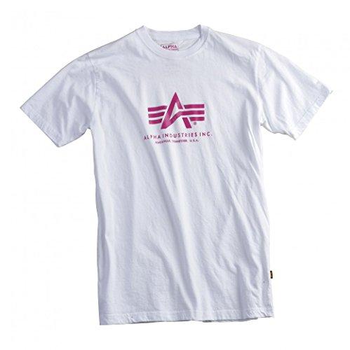Alpha Industries Herren Regular Fit T-Shirt Basic T-Shirt Blue