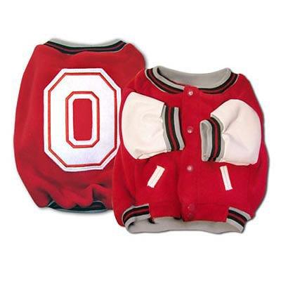 Sport-Ohio State Varsity-Jacke, Größe XS, Design (Varsity Jacke Hund)