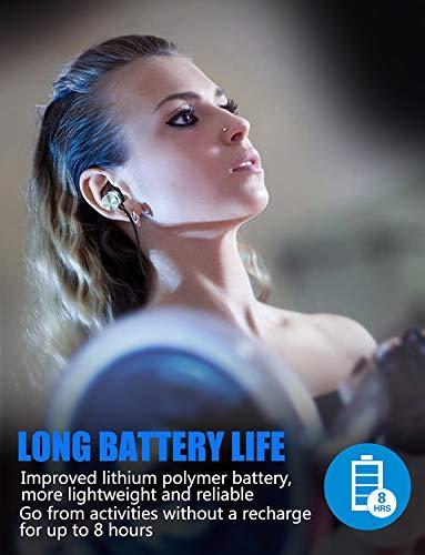 Auricolari Bluetooth, KOOHO E1 Cuffie Bluetooth 4.1 Sportivi, in ear, Auricolare Magnetiche Wireless, Resistente al Sudore IPX6, Microfono Riduzione Rumore, per iPhone, Sony, Huawei(Grey)