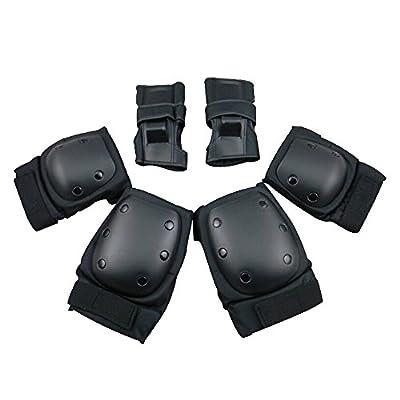 Topfire Kind Sports Schutz Gear Sicherheit Pad Safeguard (Knie-Ellenbogen-Handgelenk) Support Pad Set Ausrüstung für Kinder Roller Fahrrad BMX Fahrrad Skateboard Hoverboard Extreme Sports Bogu Protector Wachen Pads