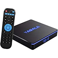 Android TV BOX, YAGALA YA-II Android 7.1.2 TV BOX 2GB RAM 16GB ROM Amlogic S905W Quad-core Cortex-A53 64 bits Processer 3D 4K 2.4GHz/5GHz Dual Band WiFi Bluetooth 4.2