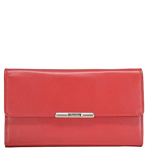 Helena Geldbörse Leder 18 cm Rot Rot