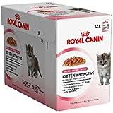 Royal Canin Comida para gatos Kitten Instinctive In Jelly 12*85gr